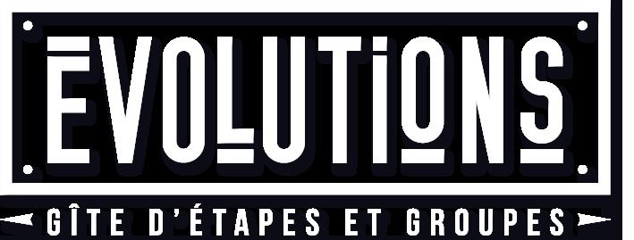Gîte Évolutions logo étapes et groupes