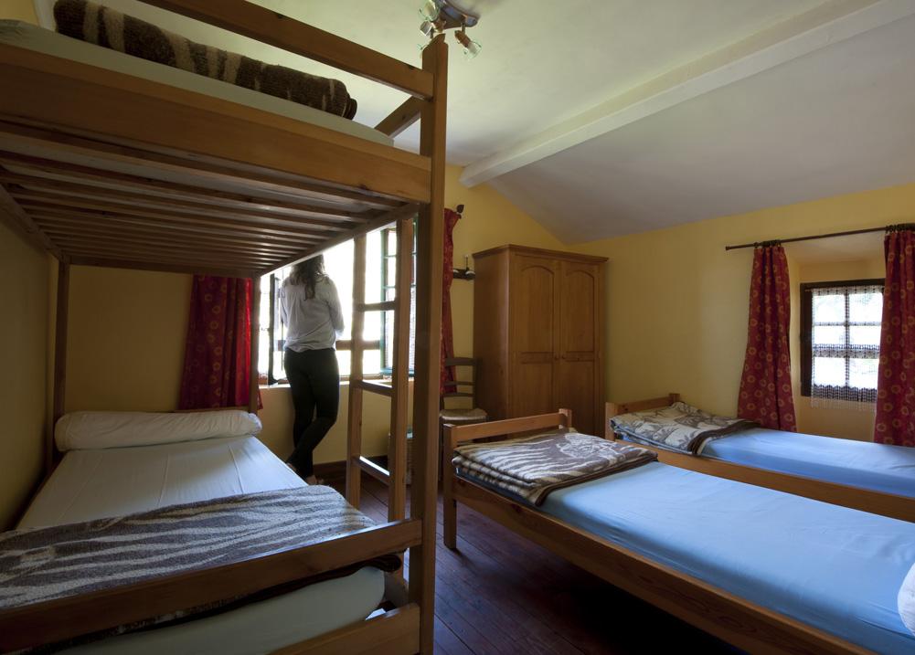 Gîte Évolutions chambre dortoir authentique