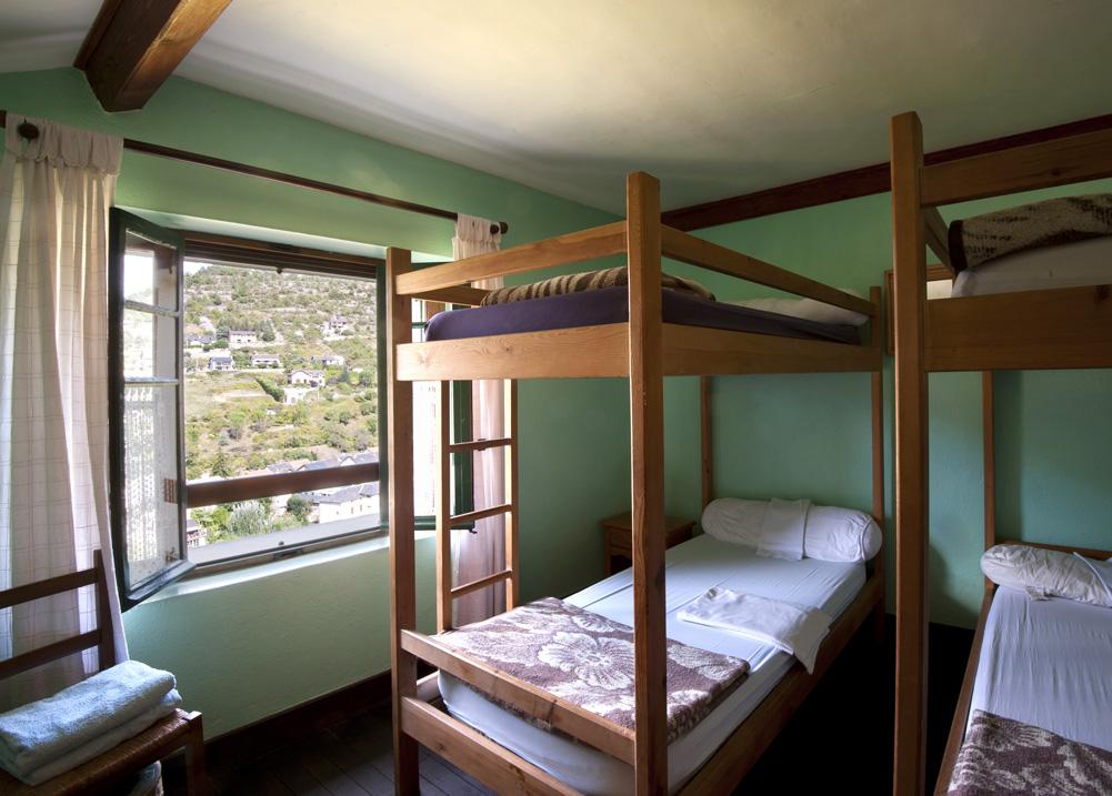 Gite Évolutions Chambrres dortoirs conviviales et confortables