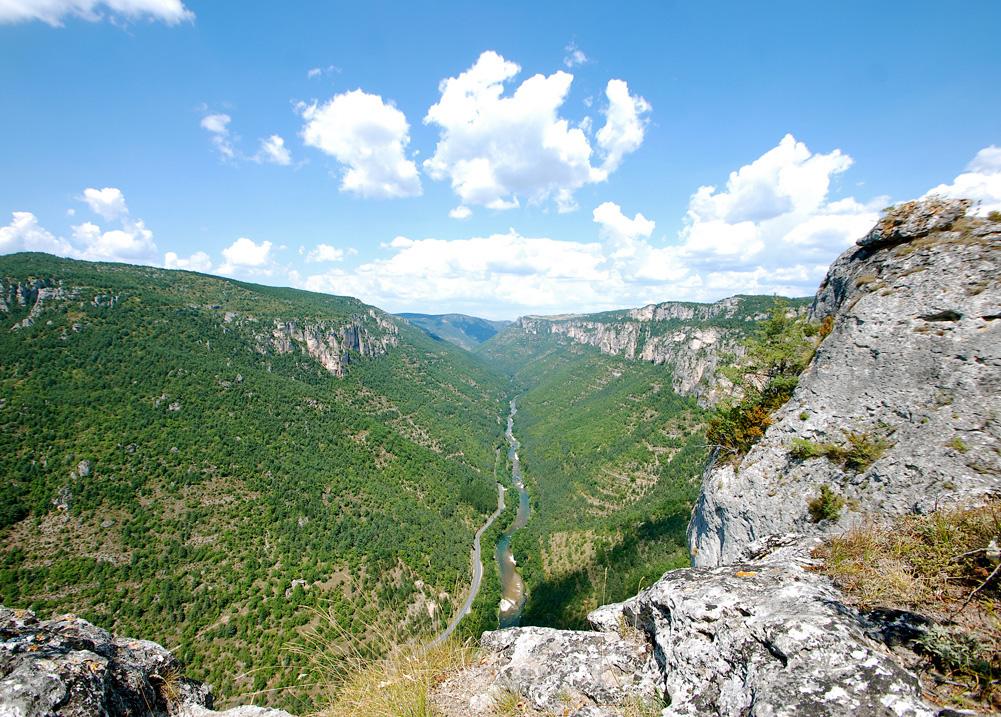 Gîte Évolutions Gorges Tarn Jonte paysage sauvage