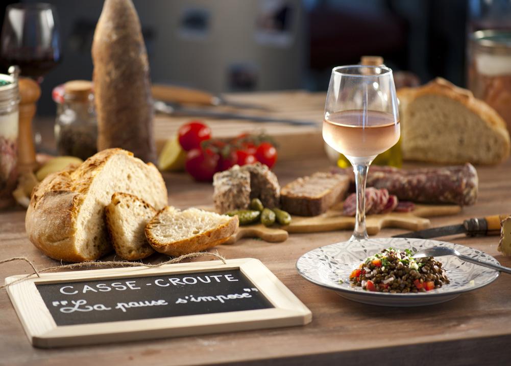 Gite Évolutions panier repas produits frais et locaux
