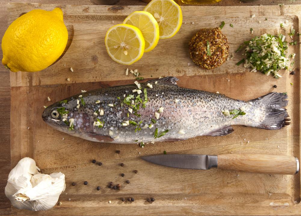 Gîte Évolutions Cuisine traditionelle poissons