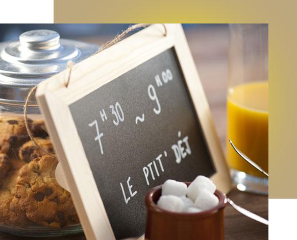 Gîte Évolutions demi-pension petit déjeuner